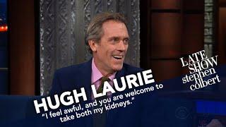 Hugh Laurie Finally Says