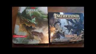 Pathfinder  Beginner Box- vs- D&D starter set
