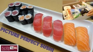 Perfectly Made Sushi Using A Sushi Kit - How To Make Sushi Series