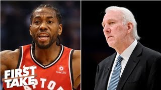 Spurs should have done everything to keep Kawhi Leonard - Stephen A. | First Take