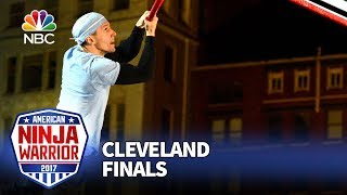 Alexi Matousek at the Cleveland City Finals - American Ninja Warrior 2017