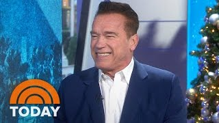Arnold Schwarzenegger On 'New Celebrity Apprentice,' Donald Trump, Catchphrases | TODAY