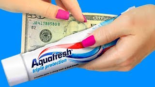 25 Life Hacks To Hide Money At Home