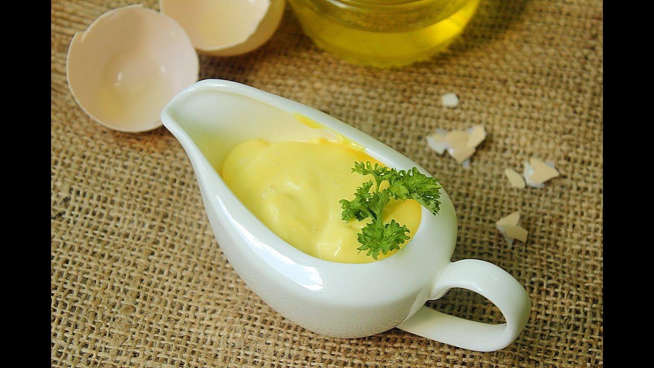 Майонез на желтках в домашних условиях рецепт
