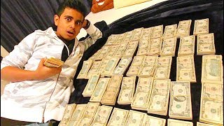 WE FOUND $500,000 CASH IN HIS ROOM !!!