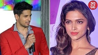 Sidharth Reacts On Break-up Rumors With Alia | Deepika & Varun To Act Together For A Film?