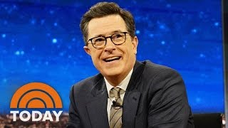 Stephen Colbert Defends Trump Jokes That Sparked 'Fire Colbert' Backlash | TODAY