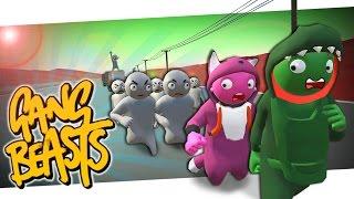 Hilfe... Wir wollen nicht STERBEN! | Gang Beasts