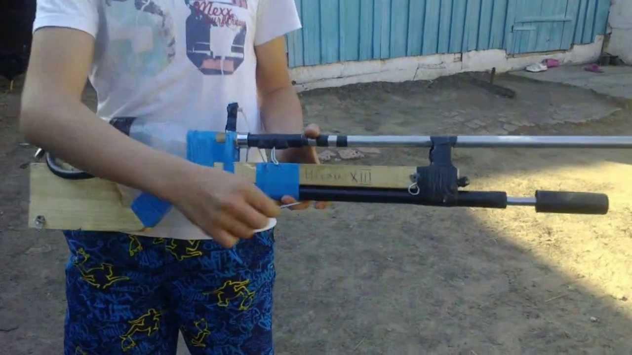 Воздушное ружье своими рук