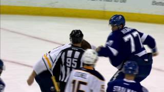 Hedman and Foligno exchange huge haymakers