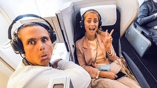 THE PERFECT COUPLES BUSINESS SEAT! | VLOG S02E17