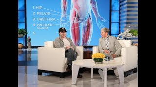 Ellen Gives Average Andy an Anatomy Test