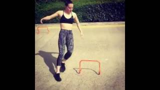Daisy Ridley training 2016 for  Star Wars: Episode VIII