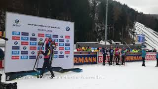 Biathlon-Weltcup 2018 in Ruhpolding: Massenstart der Männer