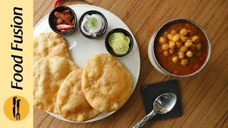 Channa Bhatura Recipe By Food Fusion