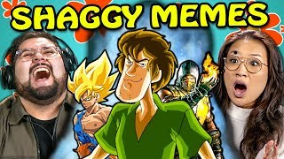 College Kids React To Ultra Instinct Shaggy Meme Compilation