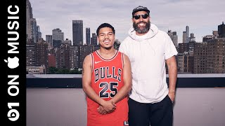 Taylor Bennett: Growing Up with Chance the Rapper  [CLIP] | Beats 1 | Apple Music