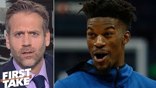 Jimmy Butler's reputation is a 'locker room cancer' - Max Kellerman   First Take