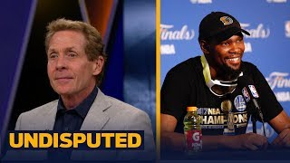 Warriors star Kevin Durant had a message for Skip Bayless on YouTube | UNDISPUTED