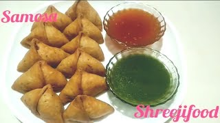પરફેકટ સમોસા રેસીપી||aloo samosa recipe step by step||perfect khasta samosa recipe
