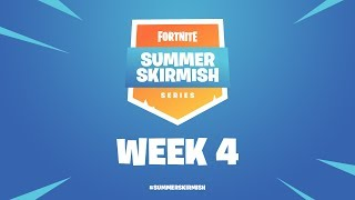 Fortnite #SummerSkirmish | Week 4 (Day 2)