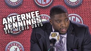 Hear what Anfernee Jennings had to say at SEC Media Days 2018
