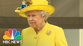 Queen Elizabeth, Prince Philip Observe Moment Of Silence For Manchester Victims | NBC News