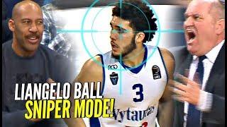 LaMelo Gets NO LOVE? LiAngelo Ball SNIPER Mode Helps Vytautas Get The Big W!!