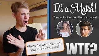 PRETENDING TO BE MY SISTER ON TINDER!