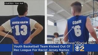 Youth Team Booted From Rec League For Racist, Offensive Jerseys