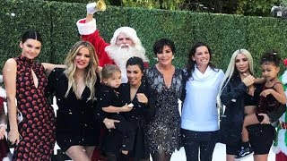 Kylie Jenner MISSING From KUWTK Christmas Special Pic