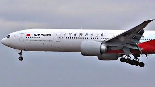 SPECIAL LIVERY   Air China Boeing 777-300ER at Los Angeles Airport (LAX)   Plane Spotting 2017  