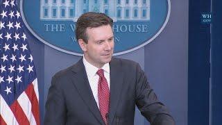 1/13/17: White House Press Briefing