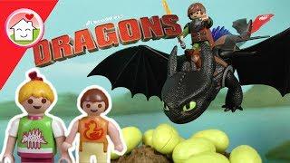 Playmobil Dragons Dracheneier - Drachenzähmen leicht gemacht - Family Stories