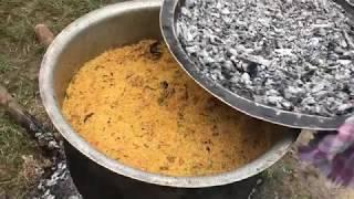 Perfect Mutton Biryani - Full Lamb Biryani - Young Chef Cooks the Tastiest Mutton Dum Biryani