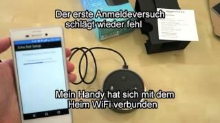Amazon Echo Dot deutsch Unboxing und Installation