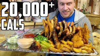 10lb (4.5kg) Food Challenge, GIANT Dumplings & More in Vienna, Austria! | Furious World Tour