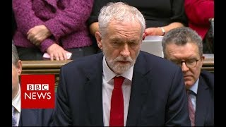 Jeremy Corbyn responds to confidence vote - BBC News