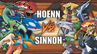 Battle of the Regions (HOENN vs SINNOH) - Pokemon Battle Revolution (1080p 60fps)