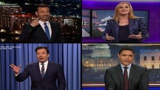 Late Night Hosts React to Donald Trump