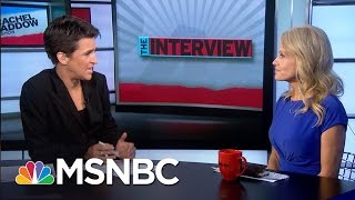 Clarifying Mixed Message On Donald Trump Muslim Ban | Rachel Maddow | MSNBC