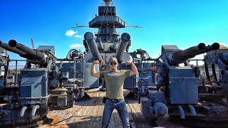 Crawling Inside The Largest Gun I
