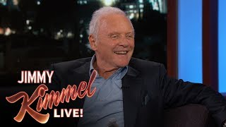Anthony Hopkins Shares an Important Life Lesson