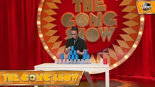 Speed stacking master – The Gong Show