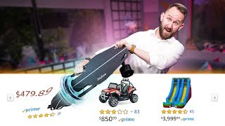 I Bought The First 10 Things Amazon Suggested To Me!