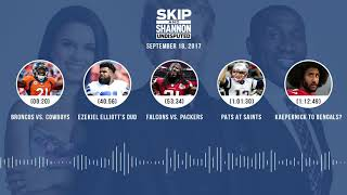 UNDISPUTED Audio Podcast (9.18.17) with Skip Bayless, Shannon Sharpe, Joy Taylor   UNDISPUTED