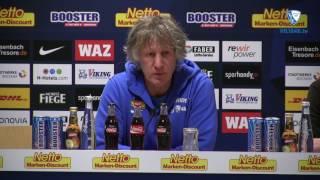 Die Pressekonferenz vor der Partie Eintracht Braunschweig - VfL Bochum 1848