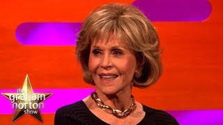 Jane Fonda Started & Ended Her Career Sleeping With Robert Redford   The Graham Norton Show