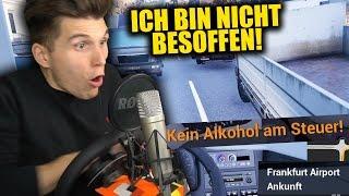 ICH BIN NICHT BESOFFEN! & REISE ZUM FLUGHAFEN! ✪ FERNBUS SIMULATOR
