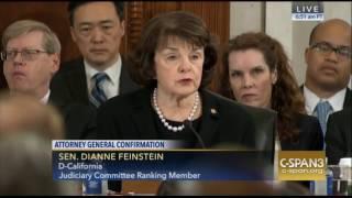 California Sen Diane Feinstein